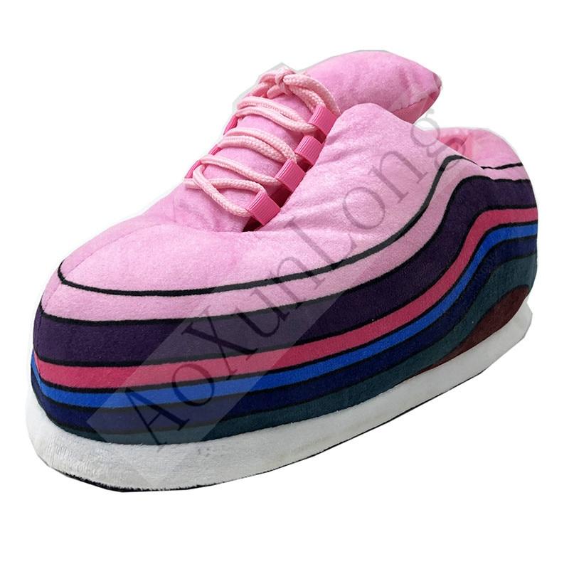 Winter Slippers Women Cute Warm Home Slippers Men/Women House Floor Sliders Indoor Slides Fat Dudu Woman Shoes Women Slippers 2