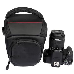 Image 2 - Сумка для камеры, наплечный чехол для Sony Alpha A6500 A6300, сумка для камеры, чехол для Canon EOS M50 M6 DSLR, чехол для объектива Nikon D3200 D3400