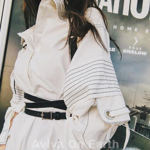 2019 Harness Gothic Lolita Women Suspenders Fashion handmade Leather Body Harness Belts