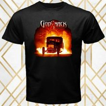 Godsmack American Rock Band 1000 Hp Album Cover Men'S Black T-Shirt Size S - 3Xl More Size And Colors Tee Shirt(China)