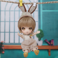 ob11 Suitsu BJD Doll 1/11 Tiny Hand Dolls Ball Jointed Doll Gifts for Kids Toys for Girls and Boys Cute baby doll
