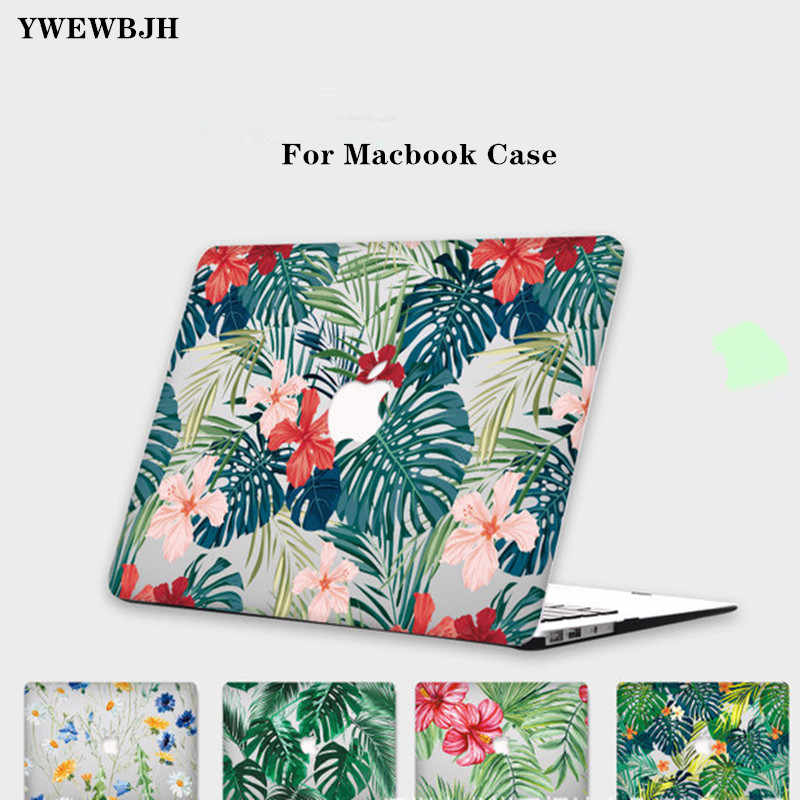 Ywewbjh Case Cover untuk Macbook Baru AIR PRO 13 15 Touch Bar Laptop Case untuk Mac Buku Udara Pro Retina 11 12 13 15 Inch Dicat Case