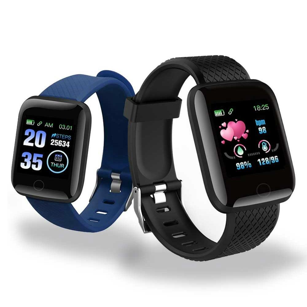 D13 Smart Watches Heart Rate Watch 116 Plus Smart Wristband Sports Watches Smart Band Waterproof Smartwatch Fitness Tracker