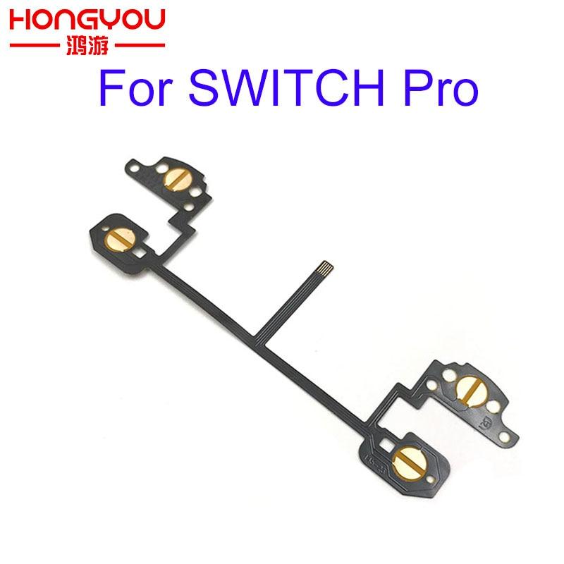 Original For Switch Pro Controller Conductive Film Flex Cable For Nitendo NS Switch Pro L ZL R ZR Buttons Conductive Film