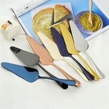 1 ud. Cuchillo de pala de acero inoxidable para pastel de pizza, servidor de queso, cuchillo divisor de pasteles, herramientas para hornear