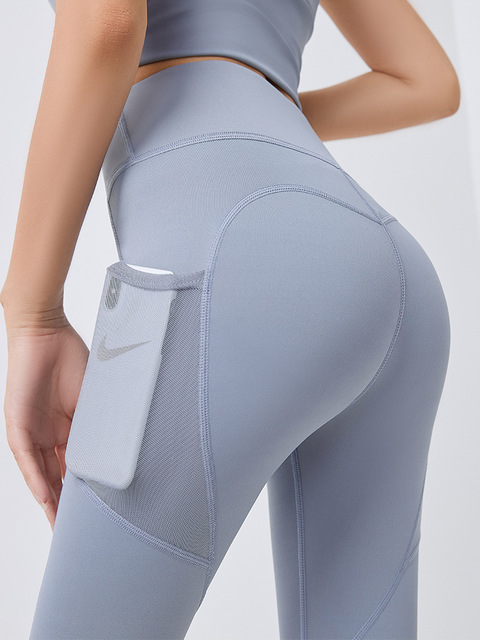 Yoga Pants Women with Pocket Plus Size Leggings Sport Girl Gym Leggings Women Tummy Control Jogging Tights Female Fitness pants 2