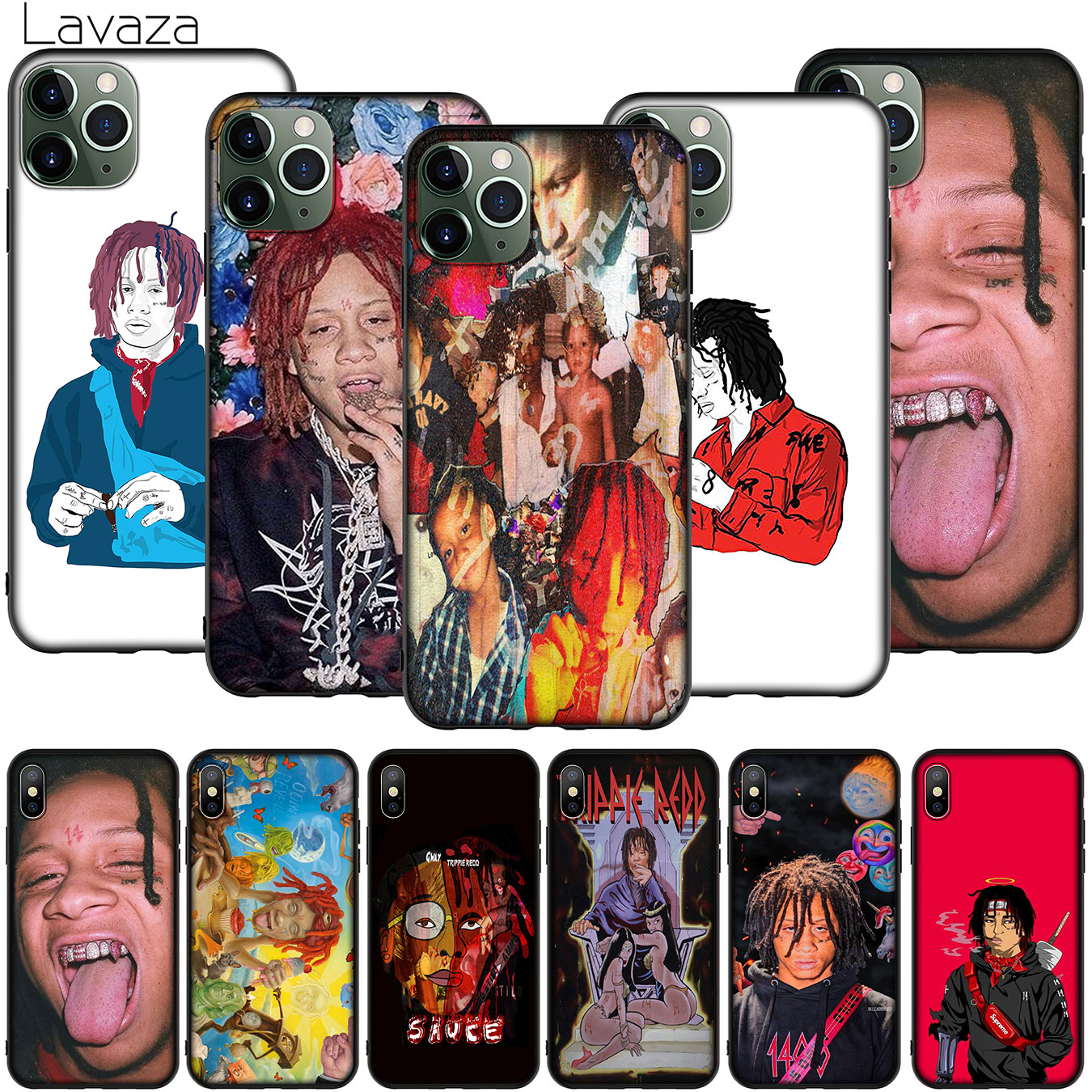 Hip hop artist Trippie Redd Phone Case for iPhone XR X XS 11 Pro Max 10 7 8 6 6S 5 5S SE Cover image
