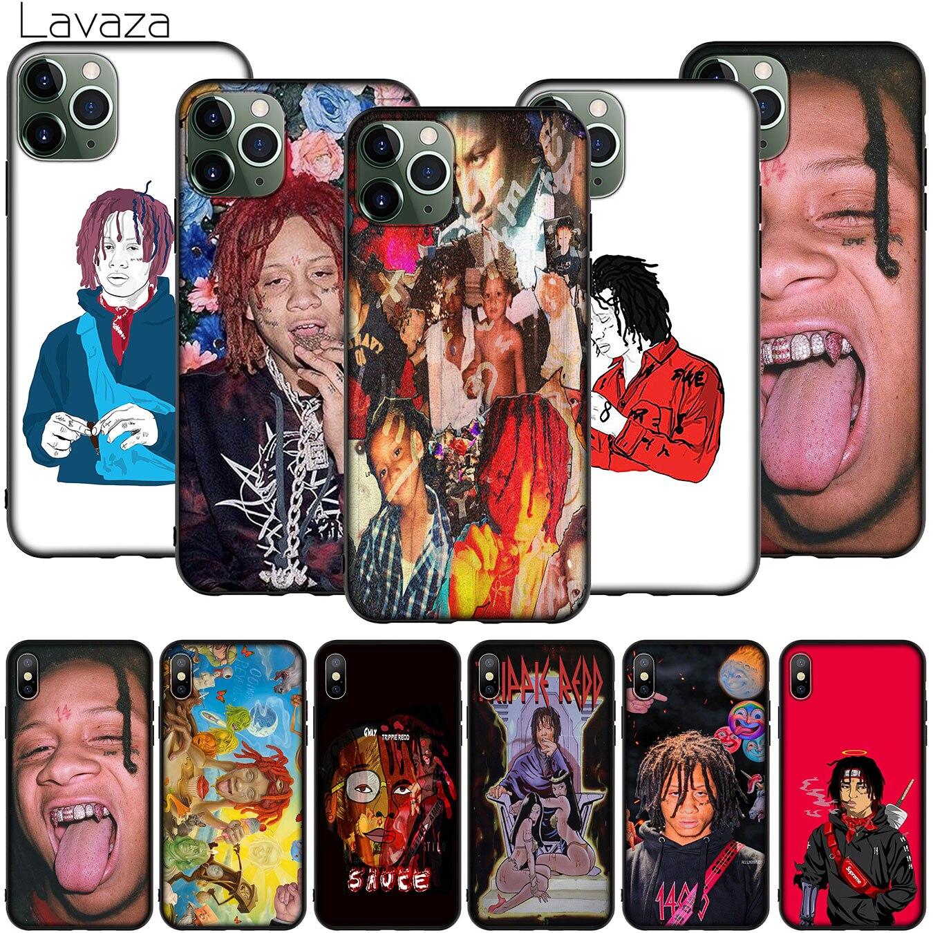 Hip hop artiste Trippie Redd coque de t l phone pour iPhone XR X XS 11