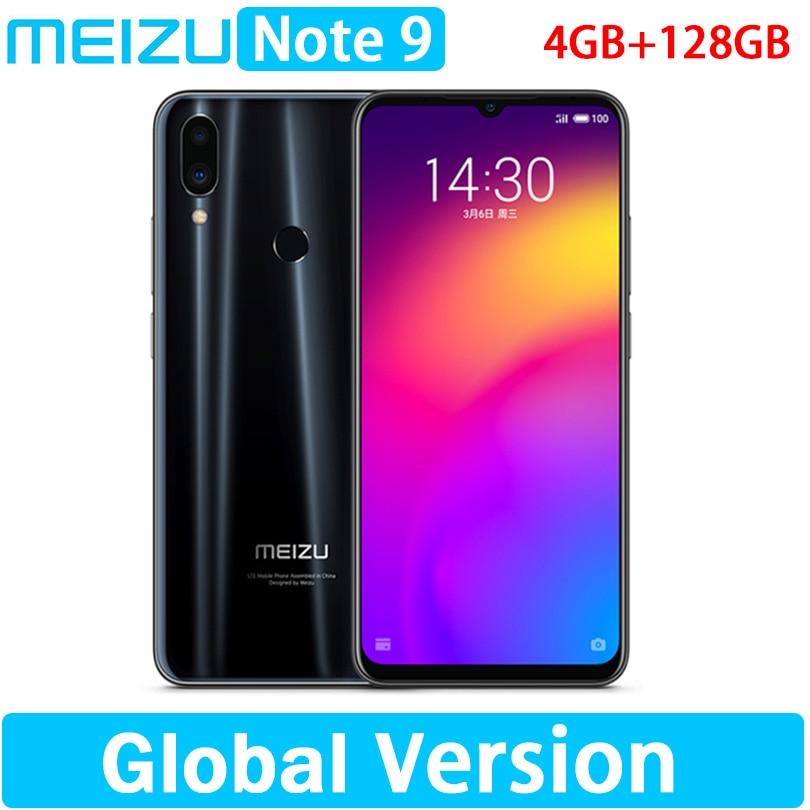 """Globale versione meizu Nota 9 4GB 128GB Snapdragon 675 48.0MP Macchina Fotografica di Impronte Digitali Octa Core 6.2 """"2244x1080 p FHD-in Telefoni cellulari e smartphone da Cellulari e telecomunicazioni su  Gruppo 1"""