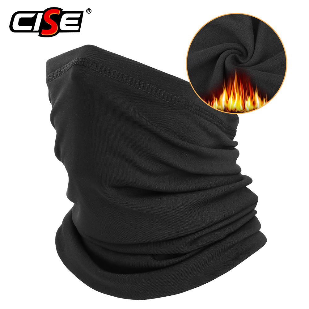 Winter Warm Motorcycle Half Face Mask Cover Balaclava Fleece Neck Gaiter Scarf Riding Skiing Paintball Bicycle Biker Windproof
