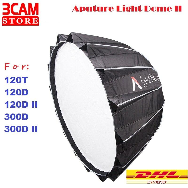 Aputure Light Dome II студийный софтбокс с отражателем Bowens крепление для 120 T/120D II/300D/300D II совместимое крепление Bowens