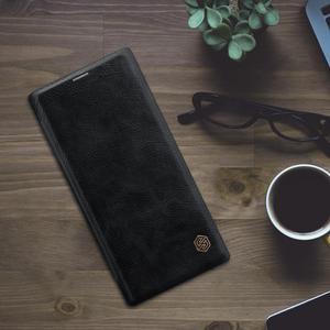 Image 4 - Nillkin Fall für Samsung Hinweis 10 Plus Abdeckung Vintage Weichen PU Leder Volle Abdeckung Flip Fall für Samsung Galaxy Note 10/10 + fall