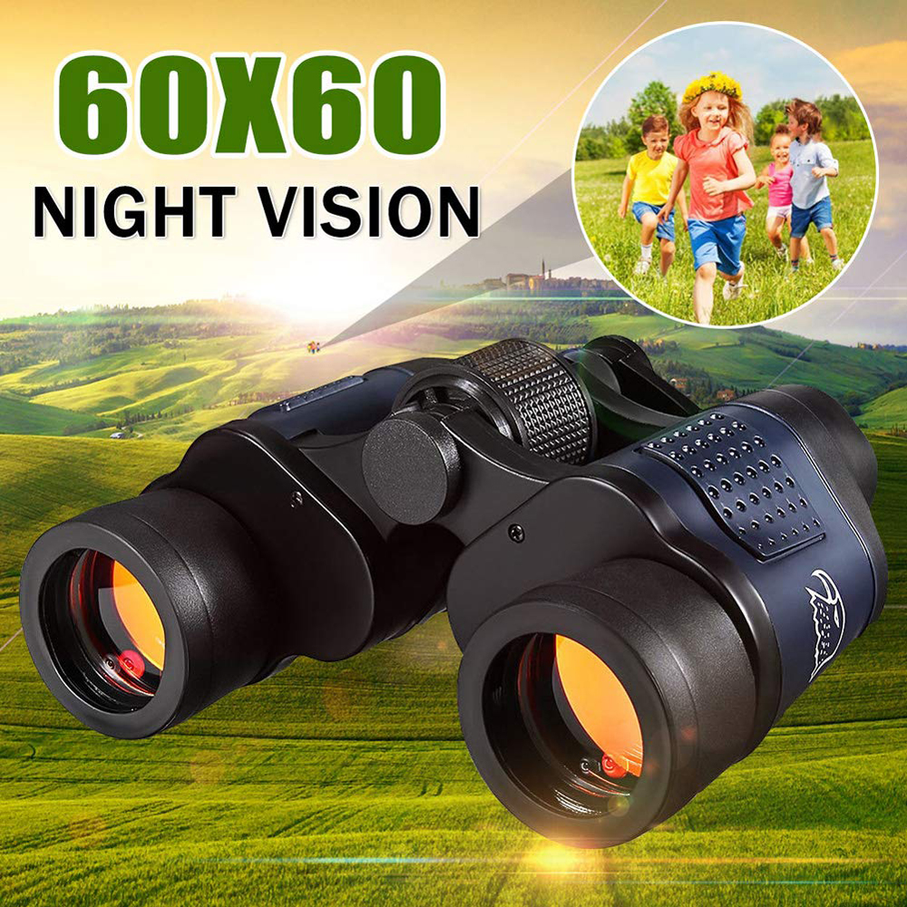 APEXEL High Clarity Telescope 60X60 Binoculars 10000M High Power For Outdoor Hunting Optical Night Vision Binocular Waterproof
