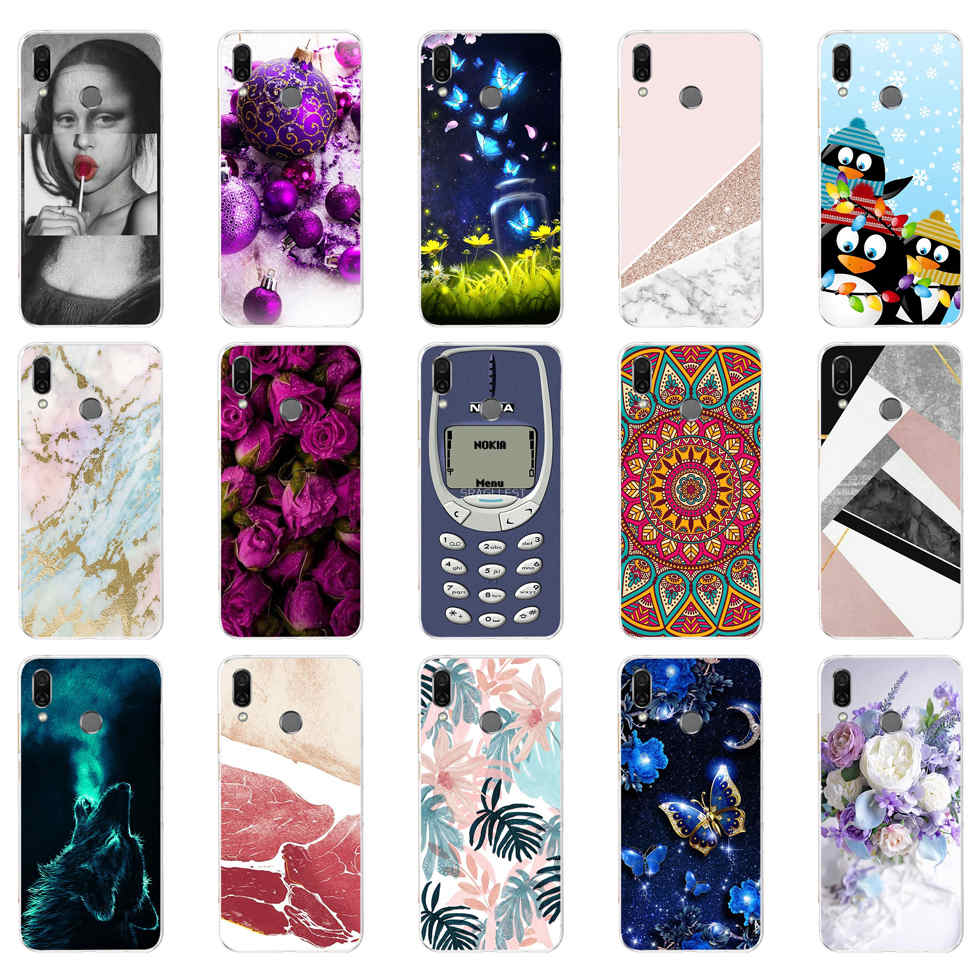 <font><b>Case</b></font> For Coque <font><b>Huawei</b></font> Honor 10 Lite Cover Soft Silicone Back Cover For Fundas <font><b>Huawei</b></font> <font><b>P</b></font> <font><b>Smart</b></font> <font><b>2019</b></font> <font><b>Case</b></font> Honor 10 Lite <font><b>Phone</b></font> <font><b>Cases</b></font> image