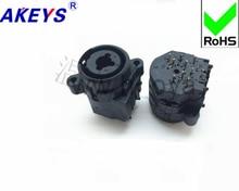 3PCS XJ-001HT-10 Audio Dual-purpose Socket XLR Audio Combination Socket Canon Combination Socket
