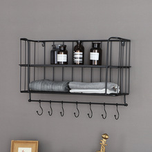 Creativity-simple wall double layer buy content rack sitting room bedroom metope decoration tiyi shelf han