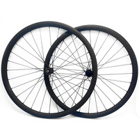 Graphene 29er carbon mtb disc wheels 30x28mm tubeless mtb wheel straight Pull DT240S boost 110x15 148x12 bicycle disc wheelset