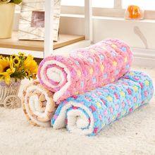 Mat Dog Pet-Blanket Hamster Puppy Comfortable Soft-Fleece Medium Bed-Mat Cushion Sleep-Beds