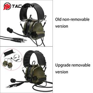 Image 5 - COMTAC TAC SKY  comtac iii silicone earmuffs dual pass version noise reduction pickup military shooting tactical headsetFG