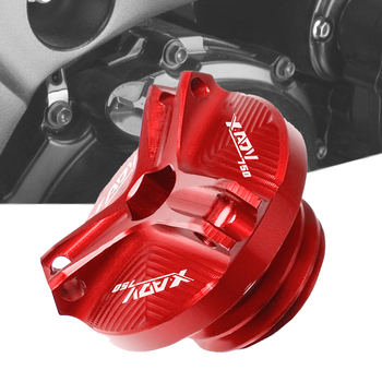 For Honda XADV750 XADV X-ADV 750 2017 2018 Motorcycle Accessories Engine Oil Cup Plug Cover Screw Motorbike Filler