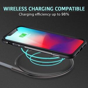 Image 5 - Esr caso para iphone xr x xs max se2 8 7 plus caso de metal kickstand vertical horizontal suporte pára choques capa para iphone se 2020 xs x