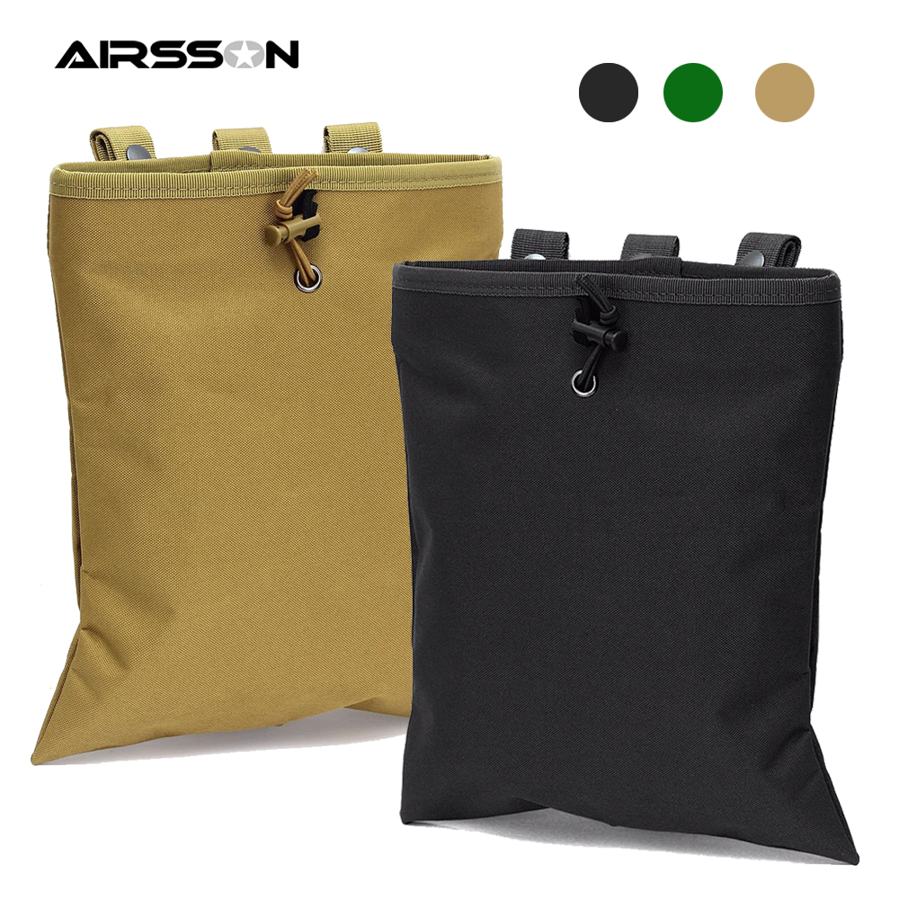 1000D Tactical Molle Dump Drop Pouch AR15 Military Combat Magazine Pouch Airsoft Paintball Ammo Carrier Hunting Recovery Bags|Hunting Bags| - AliExpress
