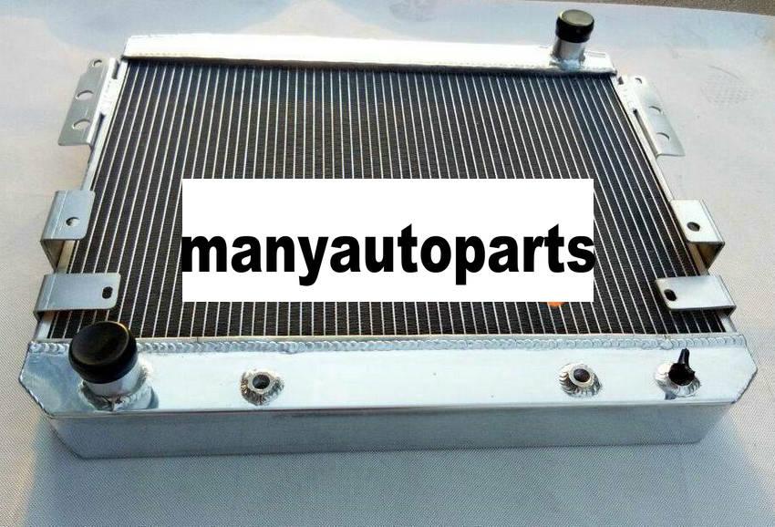 3 ROW FOR 69-70 FORD MUSTANG //68-69 Ford Torino Maverick ALUMINUM RADIATOR/&FAN
