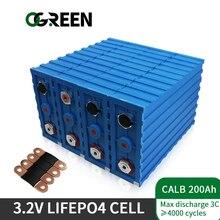 OGREEN 3,2 v CALB 200AH Lifepo4 Batterie Zelle Marke NEUE 32PCS Für DIY 96V 48V 24V 12V Batterie Packs Inverter Fahrzeug RV Steuer Freies