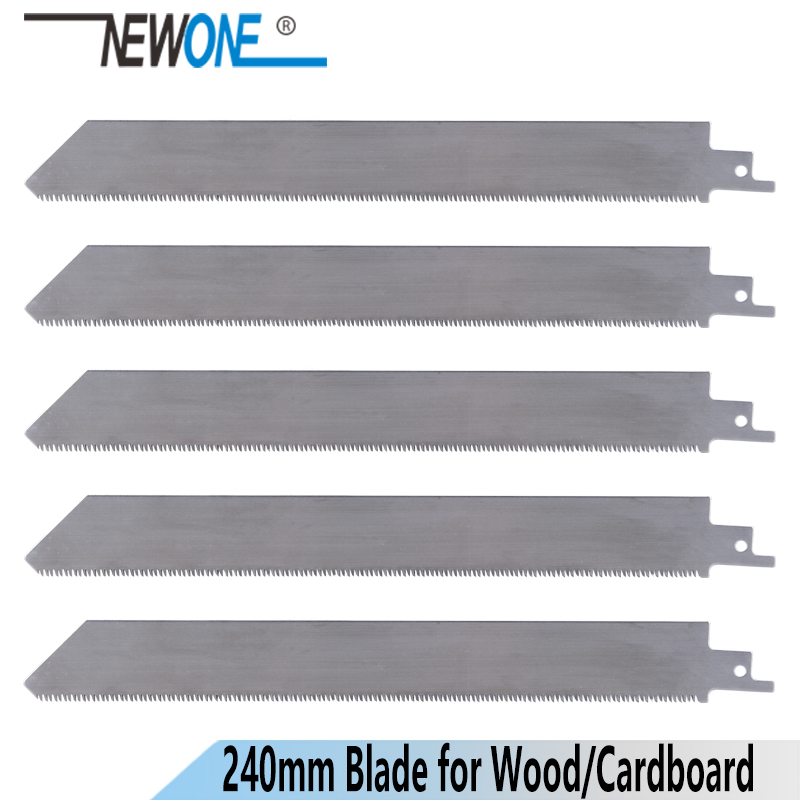 NEWONE 240mm Fine Teeth Stainless Steel Reciprocating Saw Blade Saber Saw Handsaw Accessories Saw Blades For Wood/plasticcutting