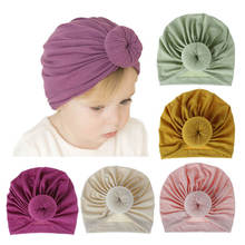 Baby Turban Infant Headbands Newborn Beanie Hat Headwear Hair Accessories