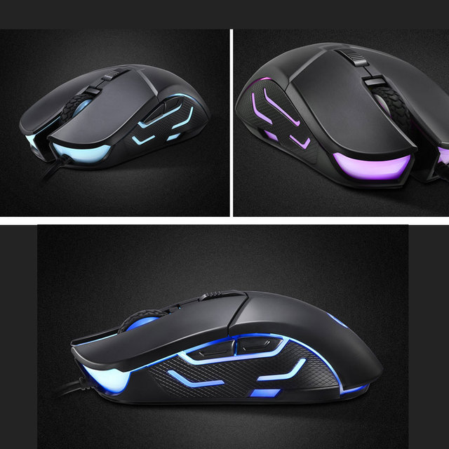 Mouse Professional HP G260 RGB LED Light Wired Gaming