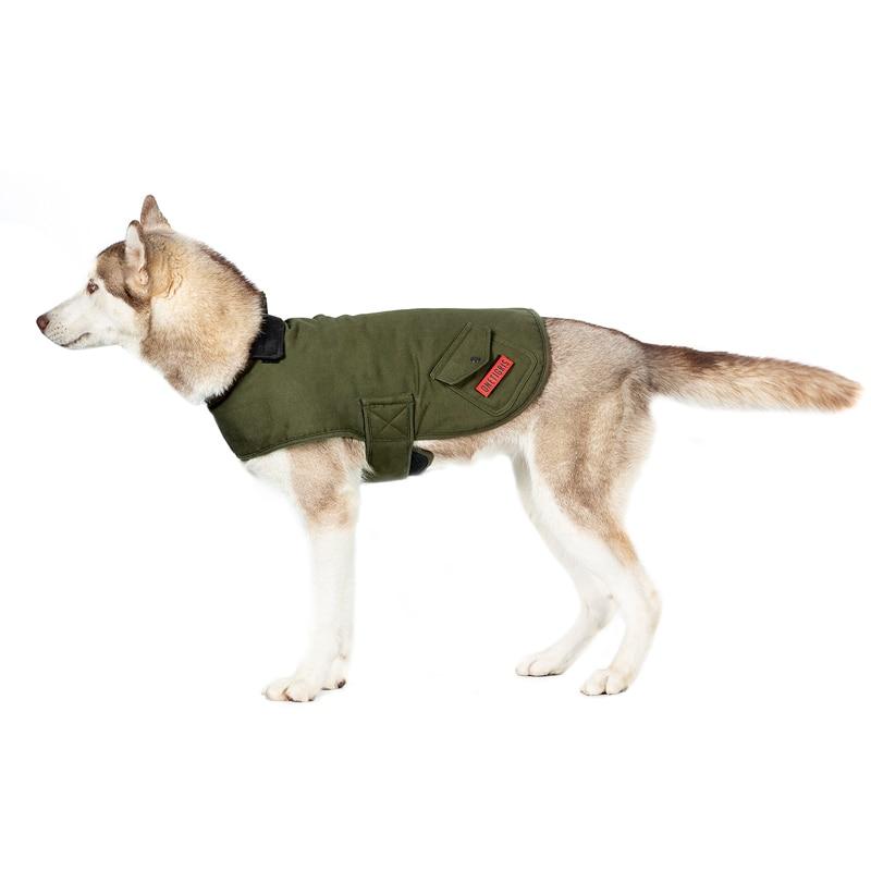 OneTigris نمط الانتحاري K9 معطف الشتاء الدافئة و يندبروف الكلب المجال سترة للمشي اليومي و الرياضة في الهواء الطلق