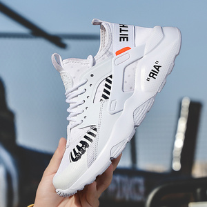 Image 4 - أحذية رجالي قابلة للتنفس 39 ~ 46 خفيفة الوزن 2019 موضة أحذية رياضية للرجال # LAG32