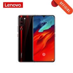 Lenovo z6 pro smartphone global rom 8 gb 128 gb snapdragon 855 octa núcleo do telefone móvel 2340*1080 tela oled 48mp ai 4 câmera