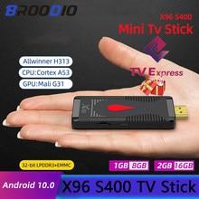 TV Stick Android TV 9.0 czterordzeniowy 1080P HD dekodowania dźwięku Chromecast Netflix Smart TV Stick TV Stick 1GB 8GB