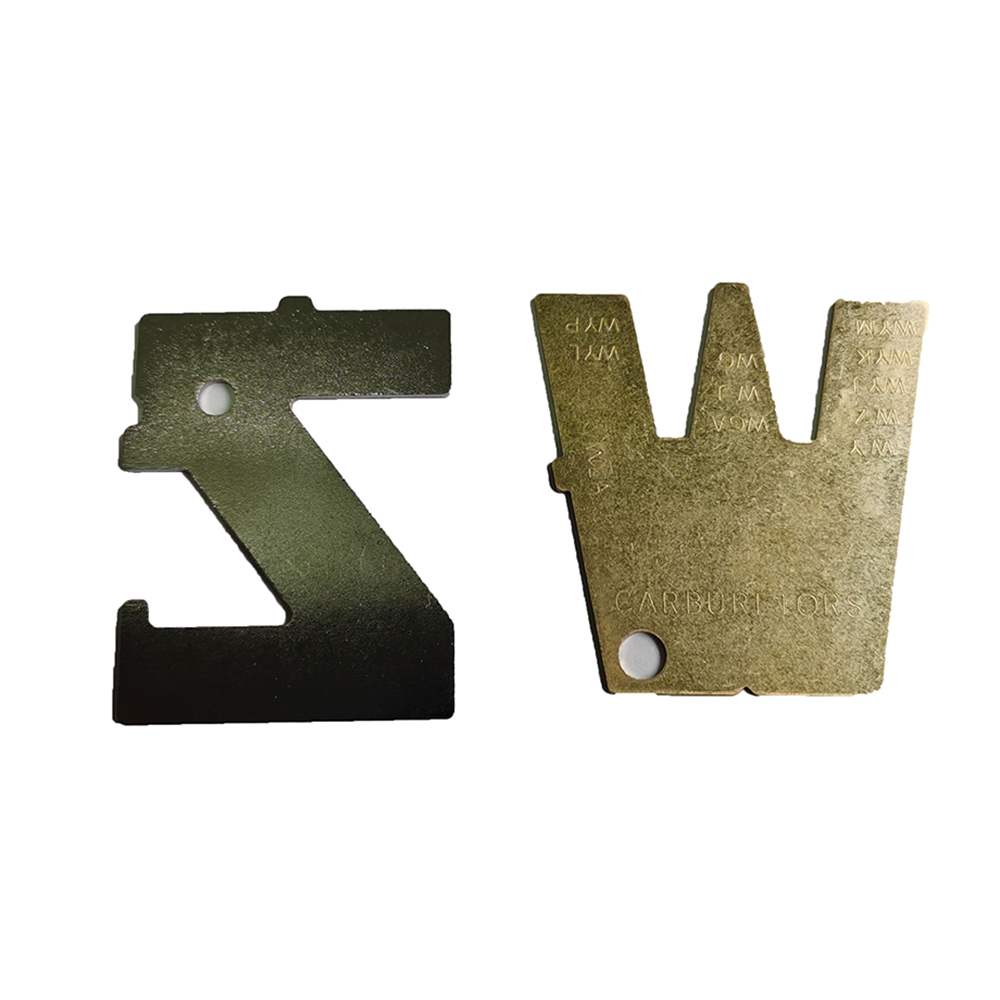 2pcs/set Chainsaws Diaphragm Carb Metering Lever Adjust Tool For Walbro 500-13-1 W Replacement Part Garden Power Tools