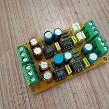 SSM2142 conversion board unbalanced RCA rotation balanced XLR output LG178