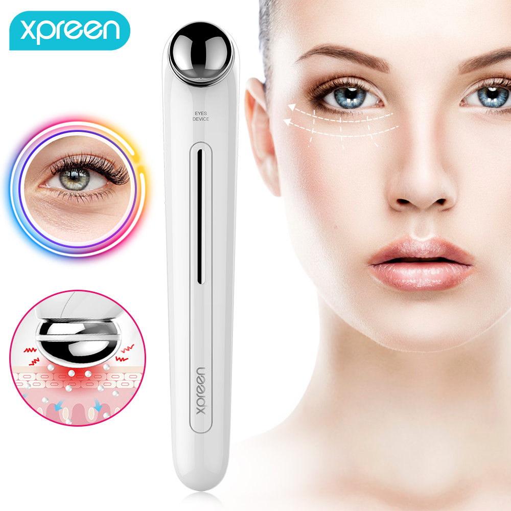 Electric Eye Massager Anti Aging Wrinkle Eye Patch Relief Dark Circle Puffiness Removal Micro-current Massage Eye Care Device