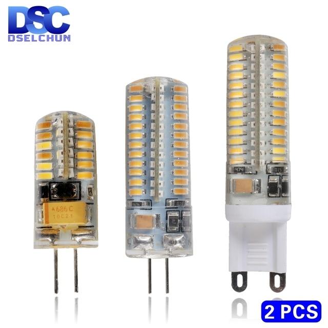 Big Offer 833964 2pcs G4 G9 Led 1w 2w 3w 4w 5w 6w Ac Dc 12v 220v Replace 20w 40w 60w Halogen Lamp Light 360 Beam Angle Chandelier Led Bulb Lamp Cicig Co