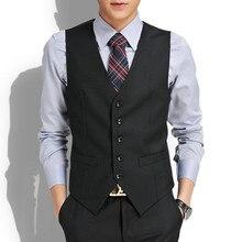 British Style Vest New Wedding High-quality Goods Cotton Men's Fashion Design Suit Vest High-end Men's Business Casual Suit Vest