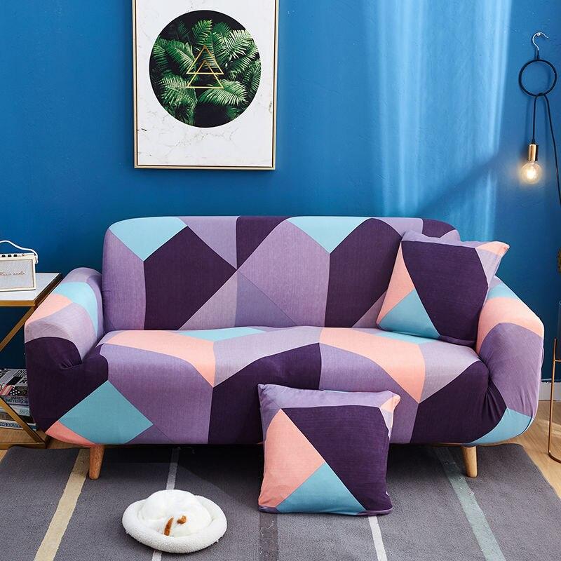 Elastic Sofa Cover For Living Room Non-slip Stretch Couch Slipcover Couch Cover Sofa Cover Floral Universal Spandex Case