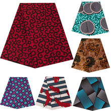 Africa Ankara prints batik patchwork fabric real dutch wax 100% polyester good quality African sewing material for dress 6yards