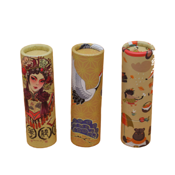 12.1mm Cosmetic Container Empty Kraft Paper Lipstick Tube Round Papery Lip Balm Tube Refillable Bottle Lip Balm Tubes 40pcs