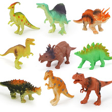 12Pcs/Set Action&Toy Figures Model Dragon Dinosaur Toy Jurassic Dragon Dinosaur Collection Animal Collection Model Toys For Kids large size classic dinosaur toy triceratops soft animal model collection for boys action
