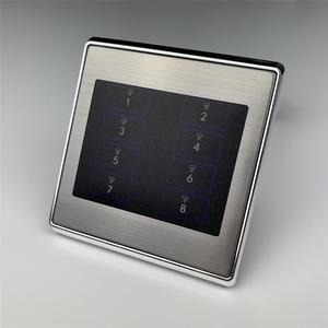 Image 1 - 8 갱 벽 토글 리셋 스위치 푸시 버튼 스마트 홈 오토메이션 용 순간 접촉 DIY