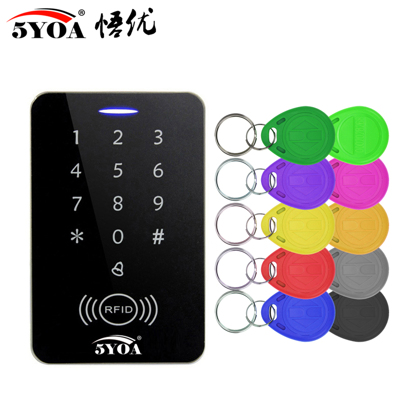 RFID Access Control System Intercom Device Machine Electronic Door Lock Smart Garage Gate Opener Electric Digital