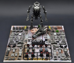 Image 4 - RIHIO MM003 Transformation V Link Mecha Series Insect Cutting Machine Assembled mech Robot Toys