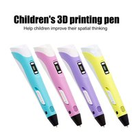 Oled 3D Printing Pen 3D Tekening Afdrukken Doodler Pen Voor Kid 3D Doodling Printer Potlood Pen Met Ole