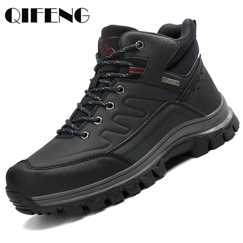 Ankle Boots Men Trendy Casual Shoes Breathable Sneaker Summer Sport Shoe Male Ankle Boots Fashion Men Shoes Winter Botas Hombre