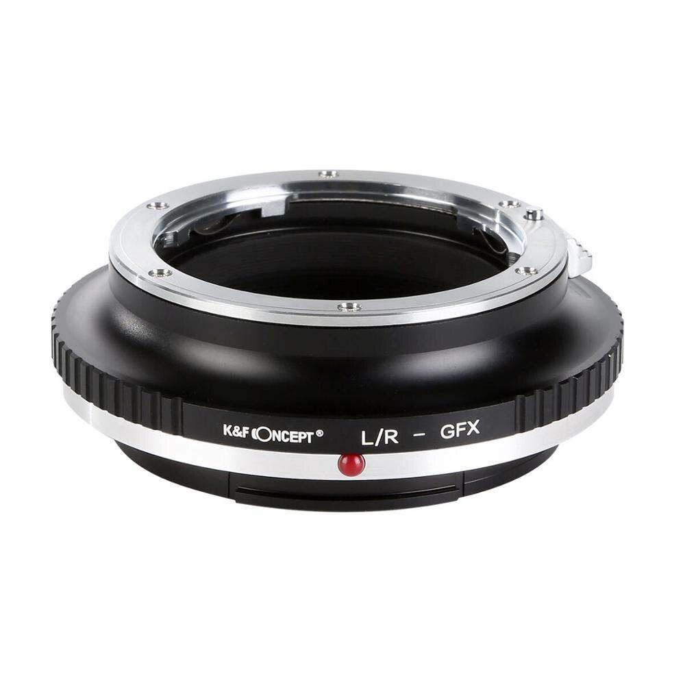 Adaptateur Concept K & F pour objectif de montage Leica R LR vers Fuji GFX 50S 50R GFX100 GFX support caméra moyen Format meilleur adaptateur